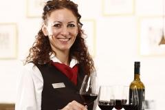 Restaurantleiterin Sandra Busch